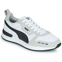 Schuhe Herren Sneaker Low Puma R78 Weiss / Schwarz