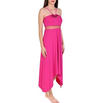 Kleidung Damen Maxikleider Lisca Langes Sommerkleid Porto Montenegro Zartrosa