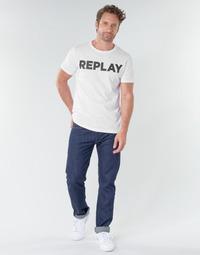 Kleidung Herren Straight Leg Jeans Replay GROVER Blau