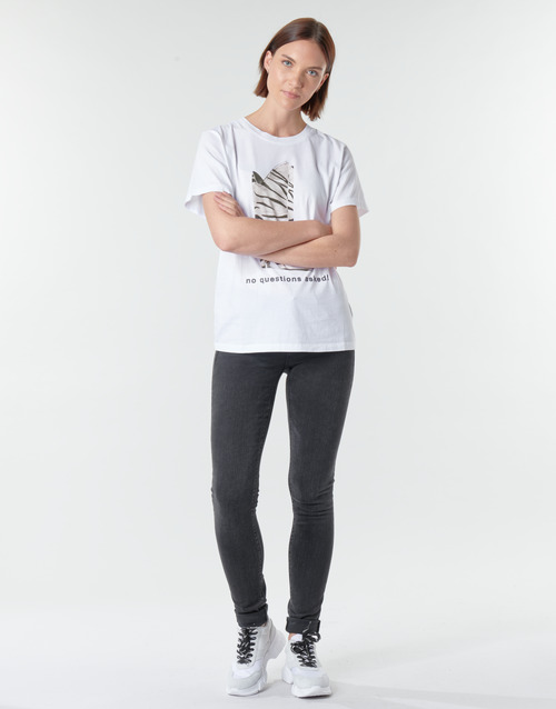 Replay LUZ / HYPERFLEX / RE-USED Schwarz - Kostenloser Versand |  - Kleidung Slim Fit Jeans Damen 15900 Hs6AR