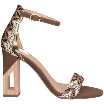 Schuhe Damen Sandalen / Sandaletten Exé Shoes Exe' RENATA-822 Sandalen Frau braun braun