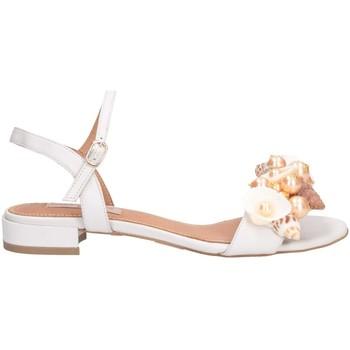 Schuhe Damen Sandalen / Sandaletten Tsakiris Mallas 601 CELIA 6-1 Sandalen Frau weiß weiß