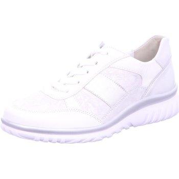 Schuhe Damen Sneaker Low Semler Schnuerschuhe S-N/FLO-PR/M-N/M-V. L5015318/101 weiß