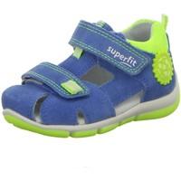 Schuhe Jungen Babyschuhe Superfit Sandalen SANDALEN KINDER  LK \ FREDDY 6-09142-81 blau