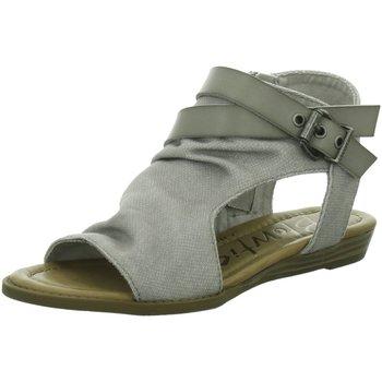 Schuhe Damen Sandalen / Sandaletten Blowfish Malibu Sandaletten Sandalette bis 30mm Absatz BALLA4EARTH grau