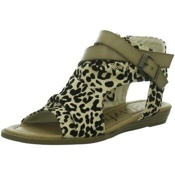 Schuhe Damen Sandalen / Sandaletten Blowfish Malibu Sandaletten BALLA BF-5486 NATURAL LEOPARD animal