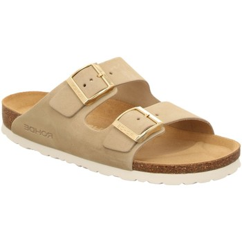 Schuhe Damen Pantoffel Rohde Pantoletten 5590/02 beige