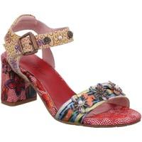 Schuhe Damen Sandalen / Sandaletten Laura Vita Sandaletten HECO02 rot