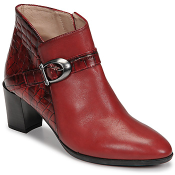 Schuhe Damen Low Boots Hispanitas PIRINEO Rot