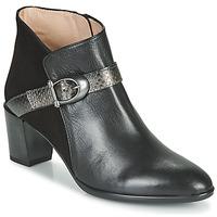 Schuhe Damen Low Boots Hispanitas PIRINEO Schwarz