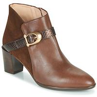 Schuhe Damen Low Boots Hispanitas PIRINEO Braun