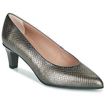Schuhe Damen Pumps Hispanitas BELEN-5 Silbern
