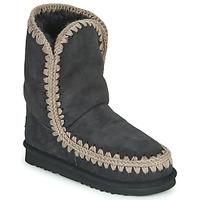 Schuhe Damen Boots Mou ESKIMO 24 Schwarz