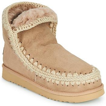 Schuhe Damen Boots Mou ESKIMO 18 Beige