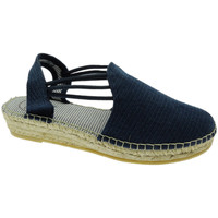 Schuhe Damen Leinen-Pantoletten mit gefloch Toni Pons TOPNOACRmari blu