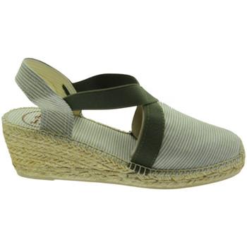 Schuhe Damen Leinen-Pantoletten mit gefloch Toni Pons TOPTERRAMTcaq verde