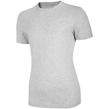 Kleidung Damen T-Shirts 4F TSM003 Grau