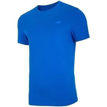 Kleidung Herren T-Shirts 4F TSM003 Blau