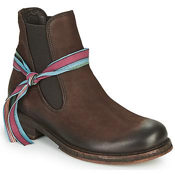 Schuhe Damen Boots Felmini COOPER Braun