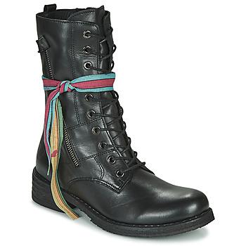 Schuhe Damen Boots Felmini COOPER Schwarz