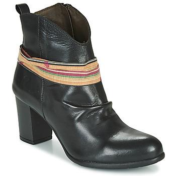 Schuhe Damen Low Boots Felmini EMORI Schwarz