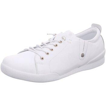 Schuhe Damen Sneaker Low Andrea Conti Schnuerschuhe 0345724001 weiß