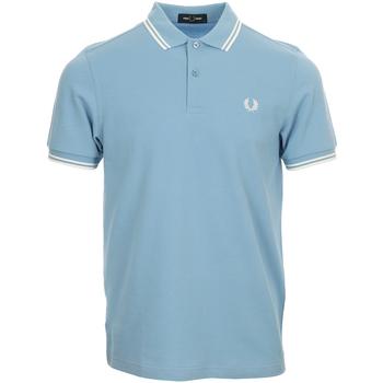 Kleidung Herren Polohemden Fred Perry Twin Tipped  Shirt Blau