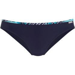 Kleidung Damen Bikini Ober- und Unterteile Lascana Marineblaue Badehose von  Jane Blau Marine