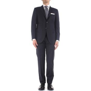 Kleidung Herren Anzüge Kiton K06S12/36 blau