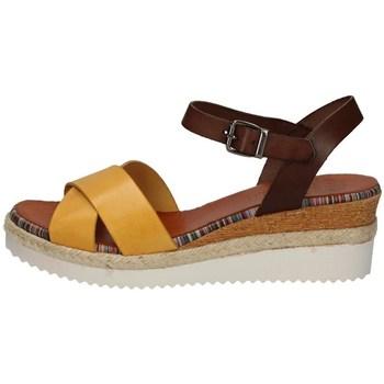 Schuhe Damen Sandalen / Sandaletten Porronet FI2549 YELLOW