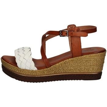Schuhe Damen Sandalen / Sandaletten Porronet FI2541 WEISS