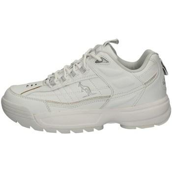 Schuhe Damen Sneaker Low Australian AU864 WEISS