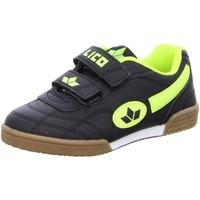 Schuhe Jungen Sneaker Low Lico Hallenschuhe Buben Sportschuh Klett 360353 Bernie V schwarz