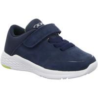 Schuhe Jungen Sneaker Low Vado Schnuerschuhe VADOBURSCHENHALBLEDER 20304MINIHUG/103 blau