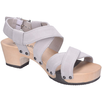 Schuhe Damen Sandalen / Sandaletten Softclox Sandaletten Sofclox KAIRI Kaschmir S3514 grau