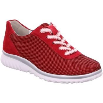 Schuhe Damen Sneaker Low Semler Schnuerschuhe Lena L5055450/066 rot