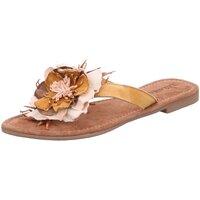 Schuhe Damen Pantoletten / Clogs Lazamani Pantoletten 33726 beige