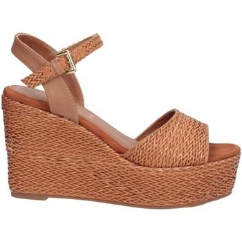 Schuhe Damen Sandalen / Sandaletten Sara Lopez SLZDSCSA0036 Kamel