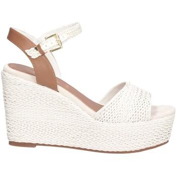 Schuhe Damen Sandalen / Sandaletten Sara Lopez SLZDSCSA0036 weiß