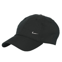 Accessoires Schirmmütze Nike U NSW H86 METAL SWOOSH CAP Schwarz / Silbern