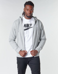 Kleidung Herren Sweatshirts Nike M NSW CLUB HOODIE FZ BB Grau