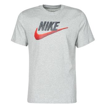 Kleidung Herren T-Shirts Nike M NSW TEE BRAND MARK Grau