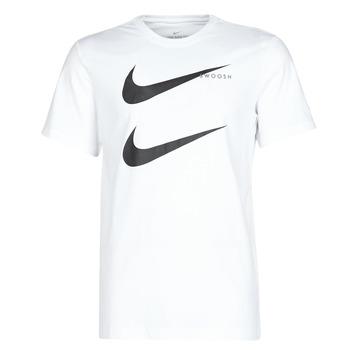Kleidung Herren T-Shirts Nike M NSW SS TEE SWOOSH PK 2 Weiss