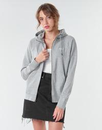 Kleidung Damen Sweatshirts Nike W NSW ESSNTL HOODIE FZ FLC Grau