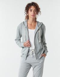 Kleidung Damen Sweatshirts Nike W NSW GYM VNTG HOODIE FZ Grau