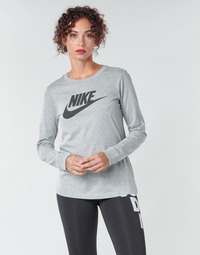 Kleidung Damen Langarmshirts Nike W NSW TEE ESSNTL LS ICON FTR Grau