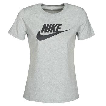 Kleidung Damen T-Shirts Nike W NSW TEE ESSNTL ICON FUTUR Grau