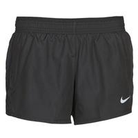 Kleidung Damen Shorts / Bermudas Nike W NK 10K SHORT Schwarz