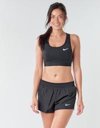 Kleidung Damen Sport BHs Nike NIKE SWOOSH BAND BRA NON PAD Schwarz