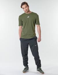 Kleidung Herren Jogginghosen Nike M NK RUN STRIPE WOVEN PANT Schwarz